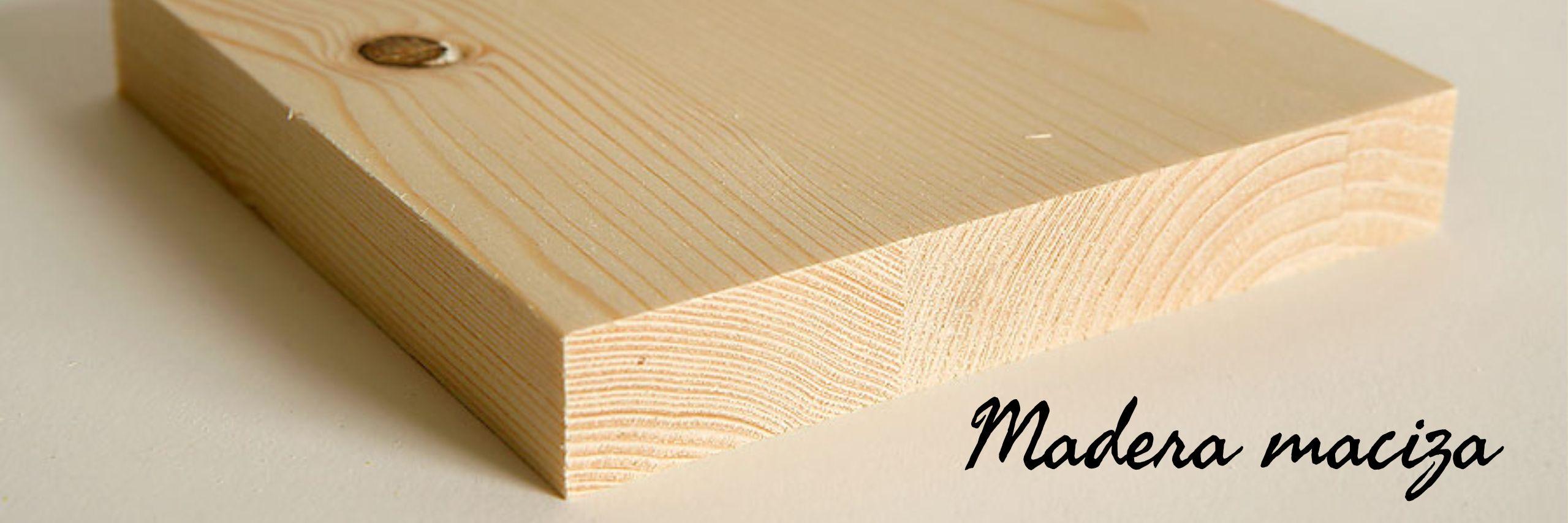 tablero de madera maciza de cabeceros.org