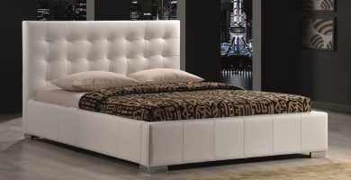 cabecero blanco capitone de cama, cabecero polipiel blanco, cabecero blanco tapizado, cabeceros amazon