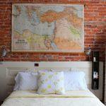 cabezal de cama hecho de puerta