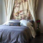cabeceros originales cortinas