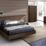 cabecero moderno de madera para camas