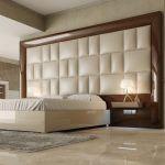 cabeceras para camas modernos