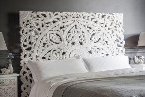 cabeceros de cama blancos muebles